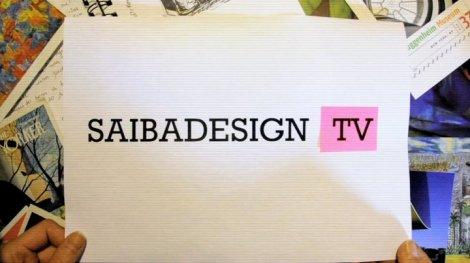 Still da vinheta do SAIBADESIGN TV.