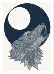 Howling Wolf, por Claire Sculy.