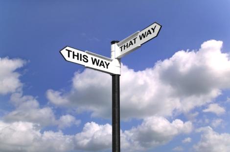 Pra que lado ir?