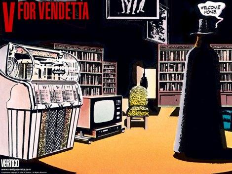 Um dos destaques da Fest Comix, é o desenhista do sucesso V de Vingança, David Lloyd.